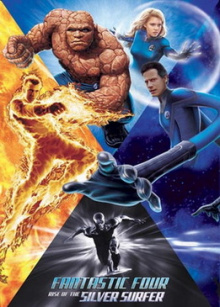 Fantastic Four  Fantastic Four Rise of the Silver Surfer